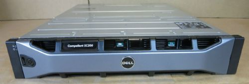Dell Compellent SC200  72TB SAS (12 x NEW Dell Compellent 6TB SAS) Enclosure